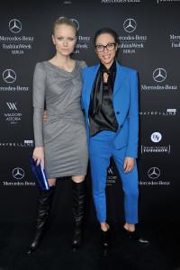 Mercedes Benz Fashion Week in Berlin am 17.01.2013